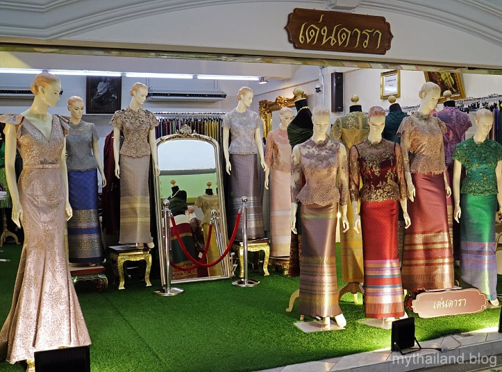 Silk Dressmaker's Shop in Bangkok