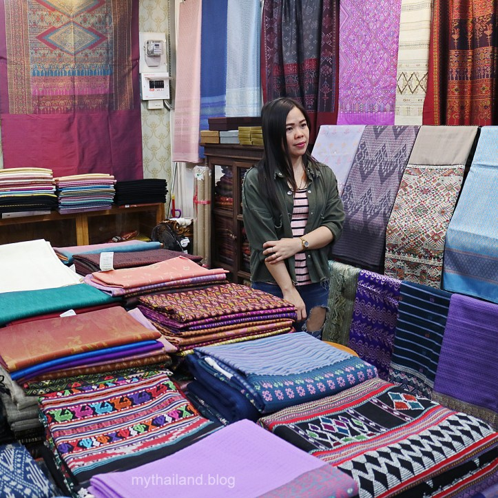 The owner of Queen of Thai Silk in Bangkok