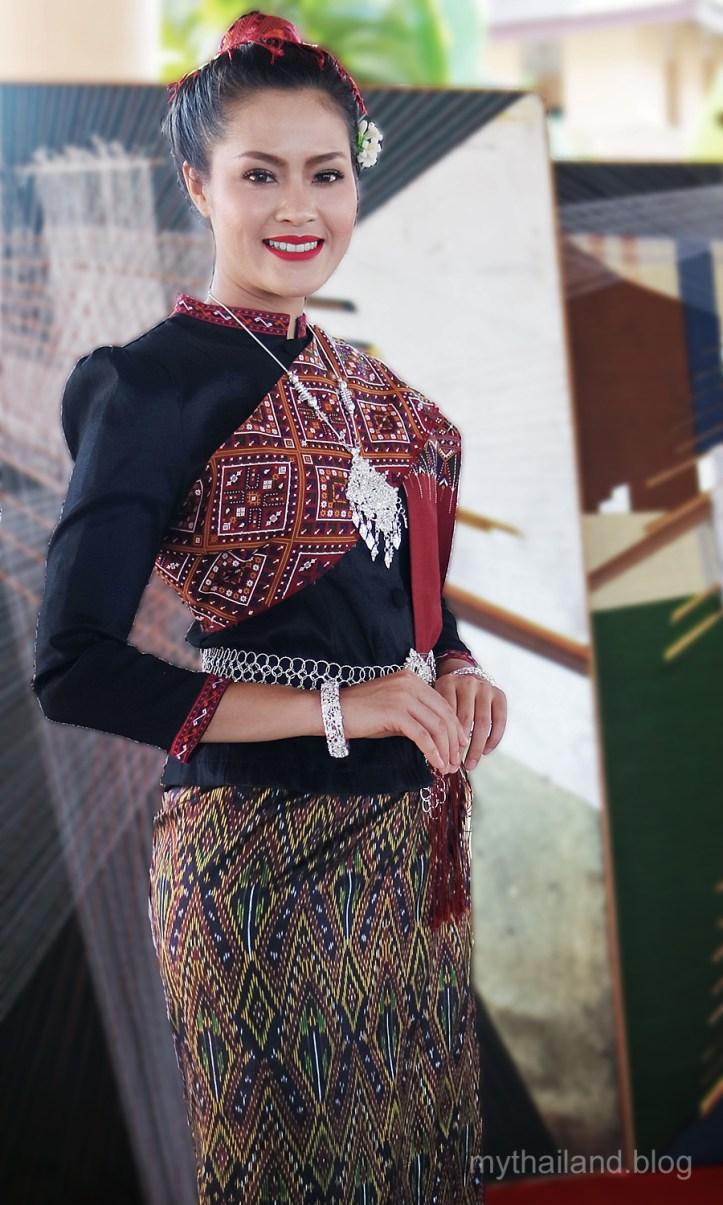 Phu Thai Woman in Traditional Garb