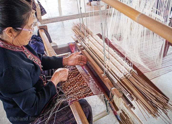 Ban Phon Silk Weaver