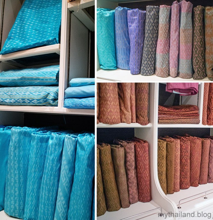 Mudmee Silk Fabric