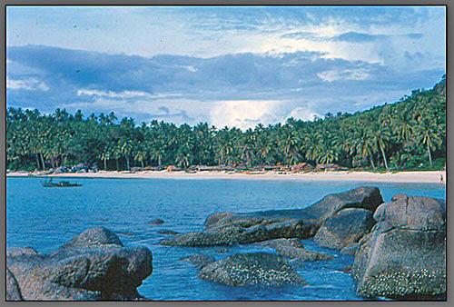 Kata Noi Beach circa 1970's