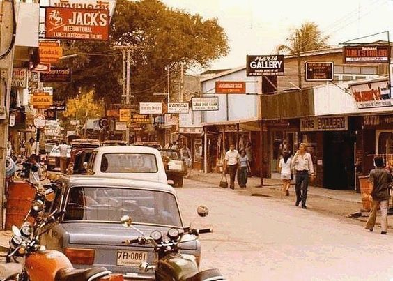 Pattaya's Walking Street 1980