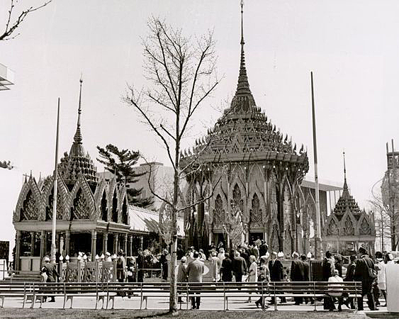 Thai Pavilion New York World's Fair-1964