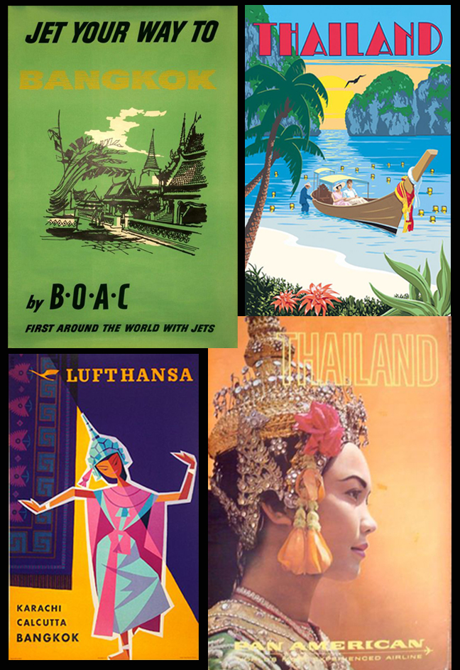 1960's Thailand Travel Posters