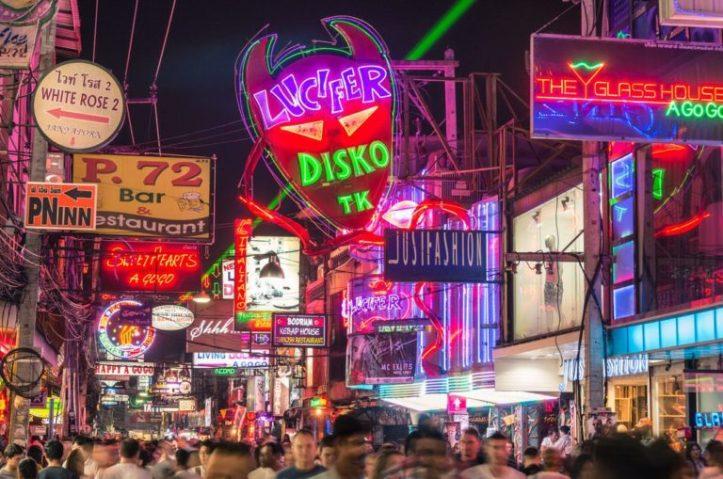 Walking Street, Pattaya 2017