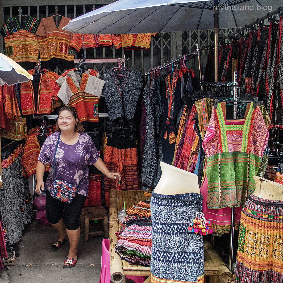 Visit The Chiang Mai Fabric District ⋆ My Thailand