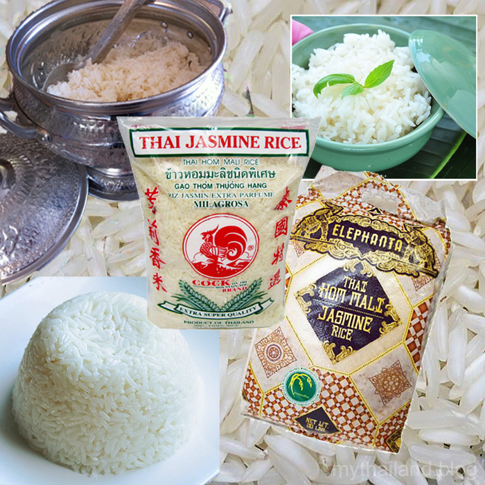 Thai Table Manners-Thai Jasmine Rice