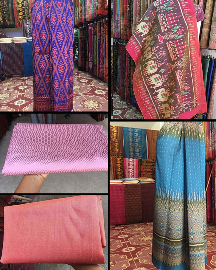 Pearmai Silk shop in Surin, Thailand