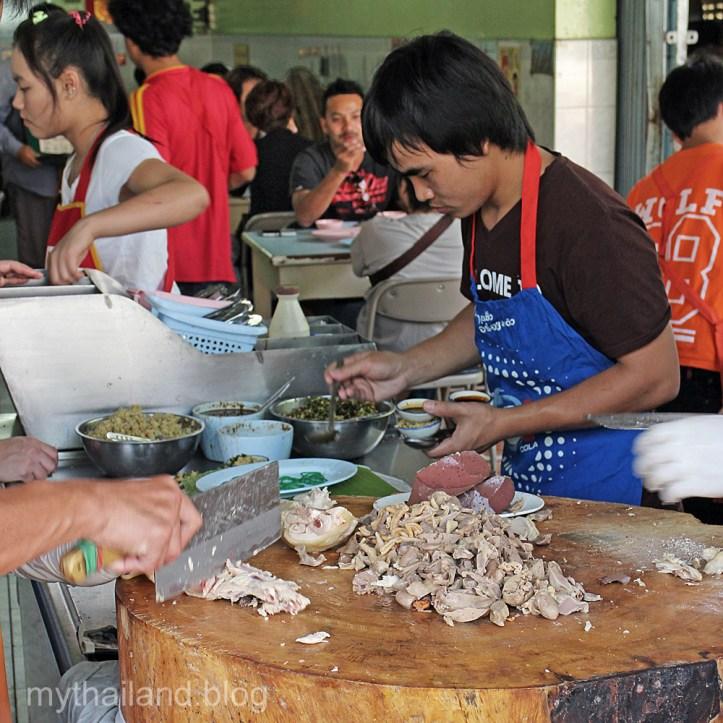 Kao Mun Gai is Chicken Fat Rice and chicken