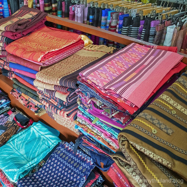 Handwoven Cotton Sarongs in Sukhothai, Thailand