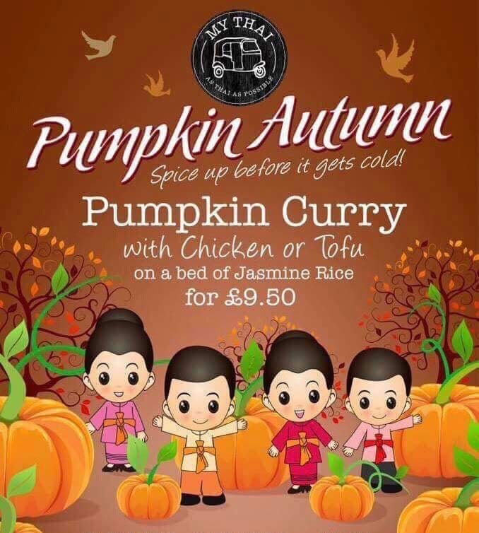 My Thai Restaurant Autumn Promo