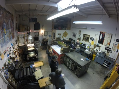 A visit to Peter Koch's amazing print studio
