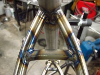 Curved seatstay bridge!