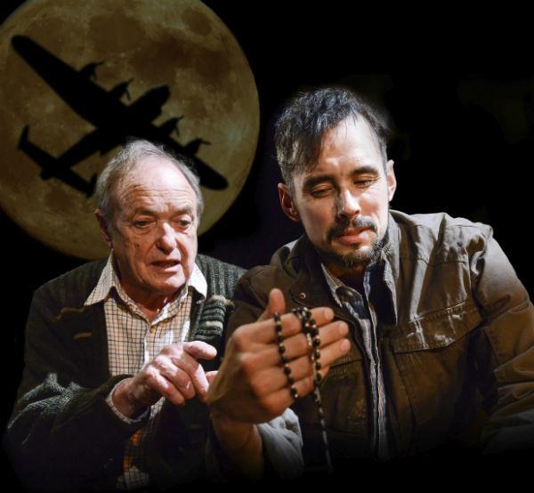 James Bolam and Steve John Shepherd in Bomber's Moon at Trafalgar Studios