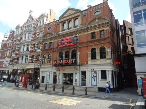London's Royal Court Theatre today