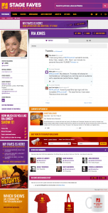 Get social media feeds for Ria Jones and all the Sunset Boulevard cast on www.stagefaves.com