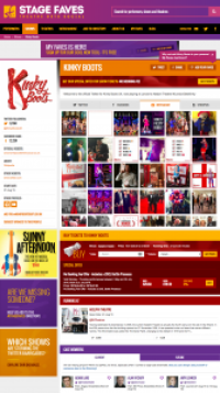 Find all social media feeds for Kinky Boots and its cast on www.stagefaves.com