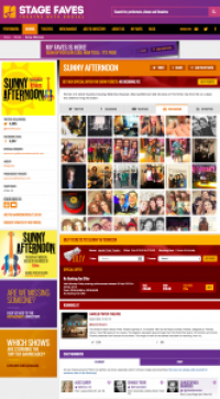 Find all social media feeds for Sunny Afternoon and its cast on www.stagefaves.com