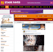 Find all social media for The Go-Between & its cast on www.stagefaves.com