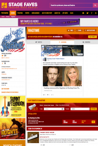 Get all social media for RAGTIME & its cast on www.stagefaves.com