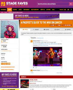 Get all social media for A Pacifist's Guide... & its cast on www.stagefaves.com