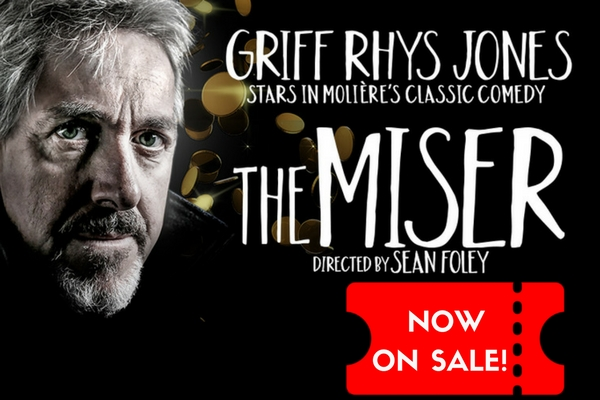 TICKETS NOW ON SALE for Griff Rhys Jones & Lee Mack in The Miser