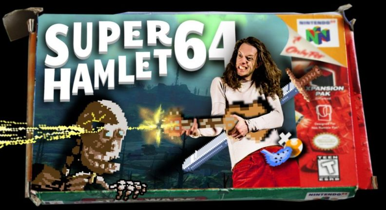 Edalia Day in Super Hamlet 64