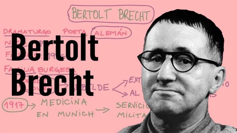 German writer Bertolt Brecht fled Nazi Germany after Hitler took power in 1933
