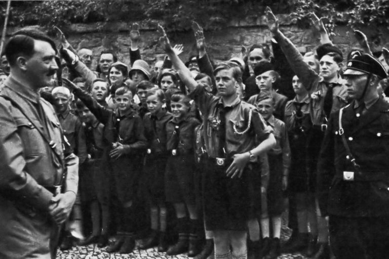 Were the Hitler Youth spyclists in England?