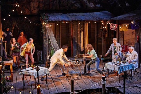 The 2019 West End revival of Tennessee Williams' The Night of the Iguana