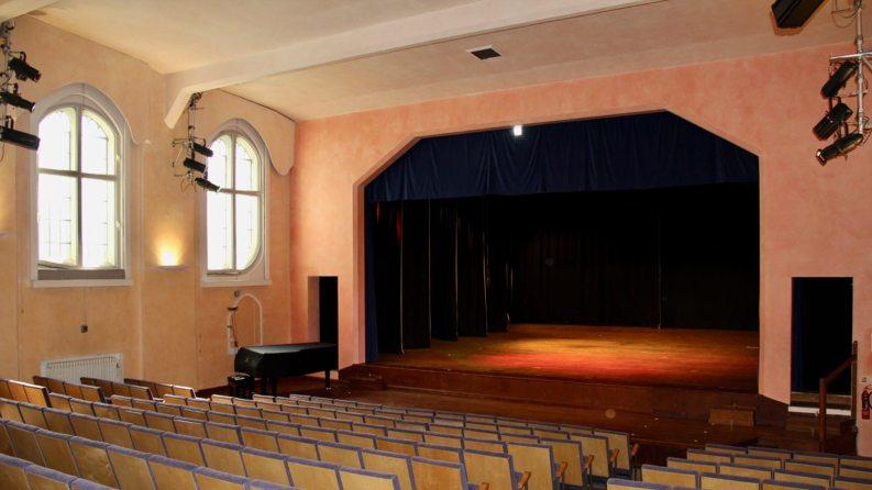 The theatre at Rudolf Steiner House