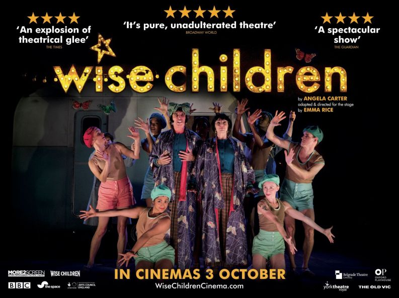 Emma Rice's adaptation of Angela Carter's WISE CHILDREN hits 250 cinema screens from 3 October 2019
