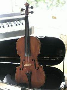 Olivia Wormald's violin has its own story