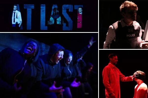 First look at the world premiere of James Lewis & Alexander Knott's At Last at London's Lion & Unicorn Theatre