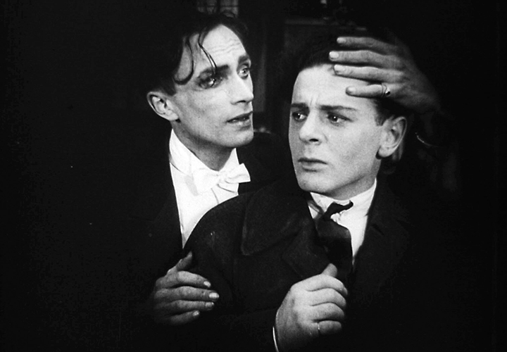 Film still from 1919's Anders als die Andern, the first pro-gay film