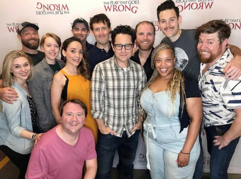JJ Abrams made his theatrical producing debut with Mischief's The Play That Goes Wrong on Broadway