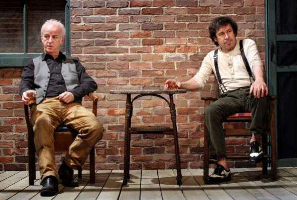 Sean McGinley & Stephen Rea in Sam Shepard's Ages of the Moon in New York in 2010