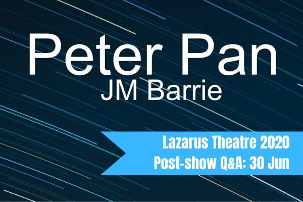 Join Terri Paddock for Peter Pan's post-show Q&A at London's Greenwich Theatre on 23 June 2019