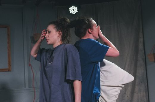 Rehearsals for Dissociated by Skitzoid Productions, Oct 2019