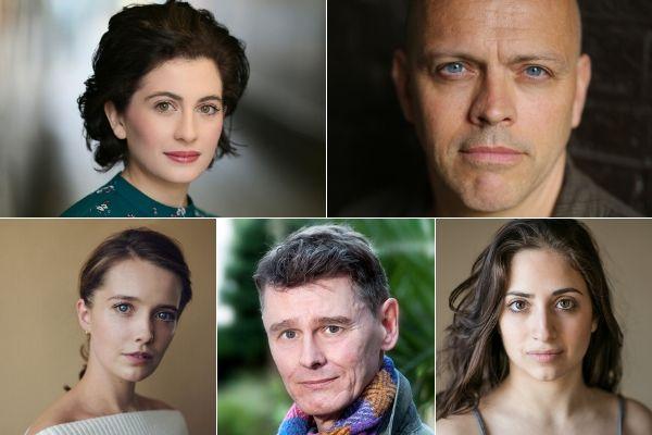 Cast of Dora Versus Picasso - Drayton Arms Theatre - Nov 19