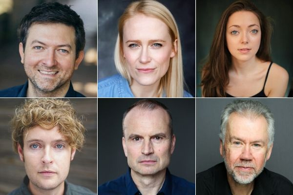 Cast of Theatrical Niche's Uncle Vanya - New Wimbledon Studio & Old Red Lion