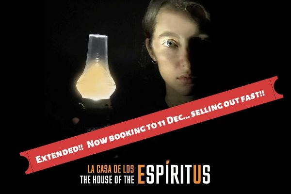 The House of the Spirits extends until 11 December 2019 at London's Cervantes Theatre