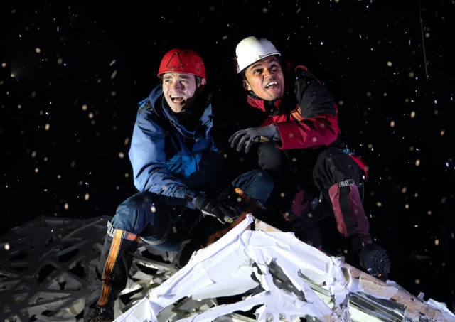Touching the Void at the Duke of York's Theatre, London, November 2019