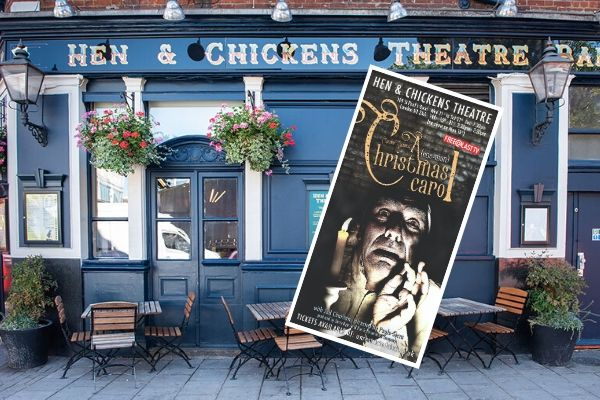 A (One-Man) Christmas Carol - Hen & Chickens Theatre - Dec 2019