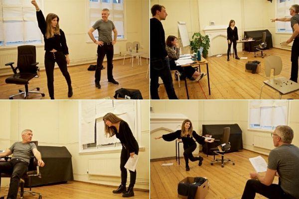 Rehearsals for You Game (Images: Jody Levitus) - RADA Studios - Nov 19