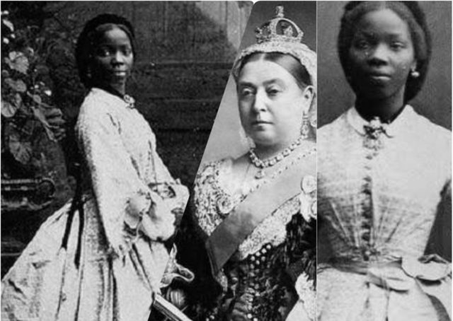 Inspired by a true story: Sarah Bonetta Davies and Queen Victoria