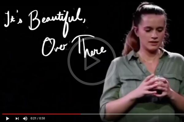 It's Beautiful Over There trailer - Tristan Bates Theatre - Feb 2020