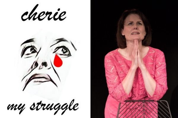 Mary Ryder plays Cherie in Cherie - My Struggle