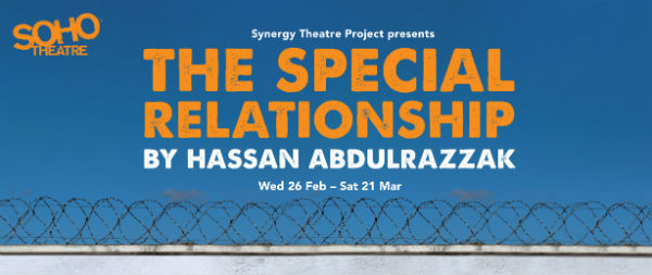 The Special Relationship runs 26 February-21 March 2020 at Soho Theatre